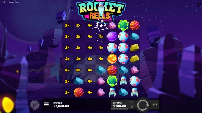 Multiplier Feature by Free Slots 247