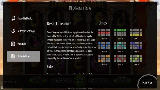 Desert Treasure screenshot