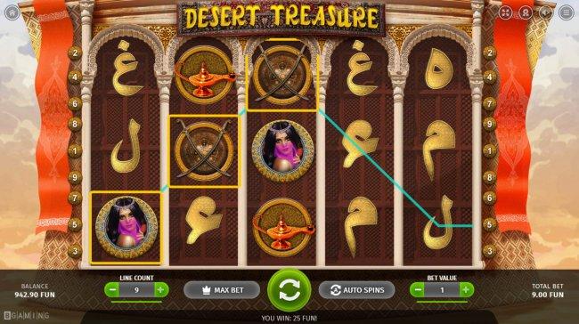 Images of Desert Treasure