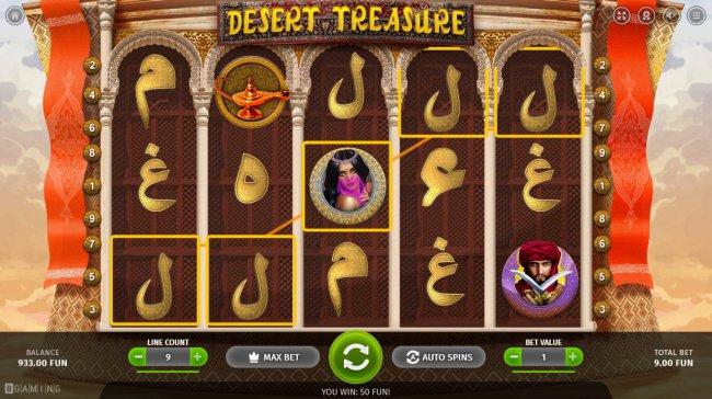 Desert Treasure by Free Slots 247