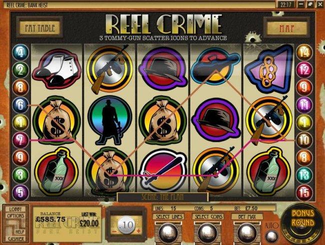 Reel Crime Bank Heist screenshot