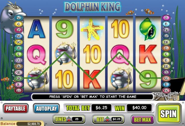 Free Slots 247 image of Dolphin King
