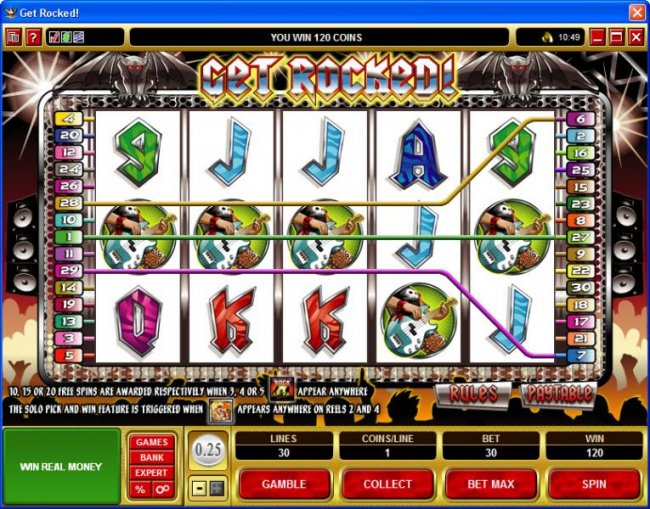 Get Rocked by Free Slots 247