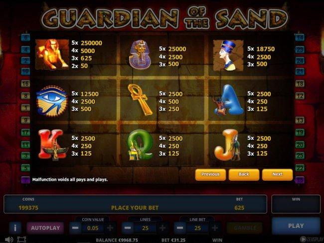 Guardian of the Sand screenshot