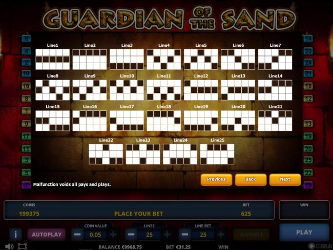 Guardian of the Sand by Free Slots 247