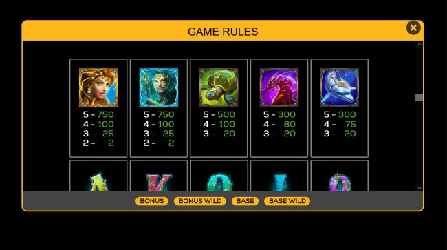 Free Slots 247 image of Guardians of the Deep