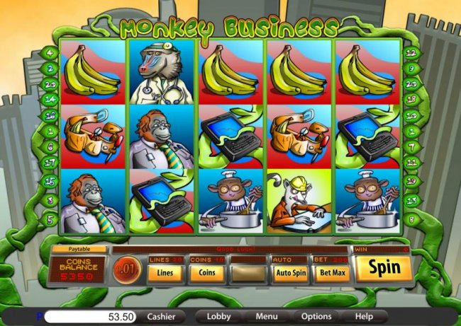 Monkey Business screenshot