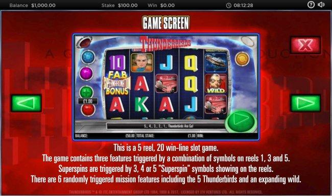 Free Slots 247 image of Thunderbirds