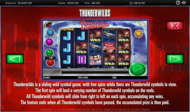 Thunderbirds screenshot