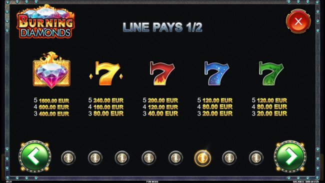 Free Slots 247 image of Burning Diamonds