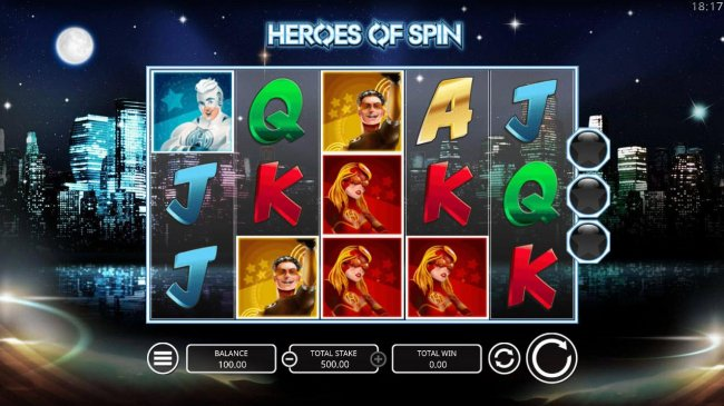 Heroes of Spin by Free Slots 247