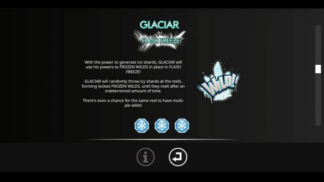 Glacier in Flash Freeze Game Rules. - Free Slots 247