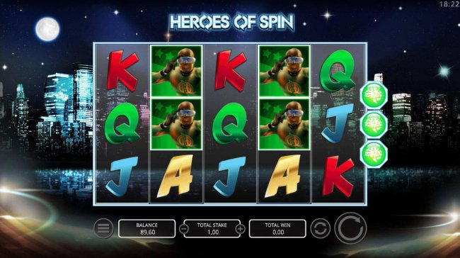 Free Slots 247 image of Heroes of Spin