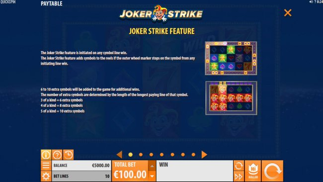 Free Slots 247 image of Joker Strike
