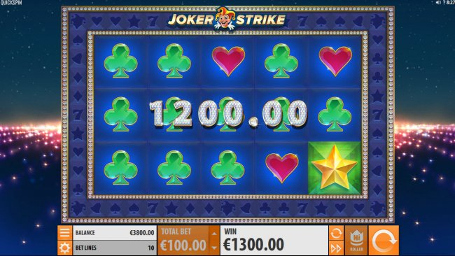 Joker Strike by Free Slots 247