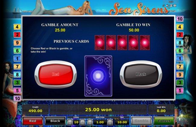 Sea Sirens screenshot