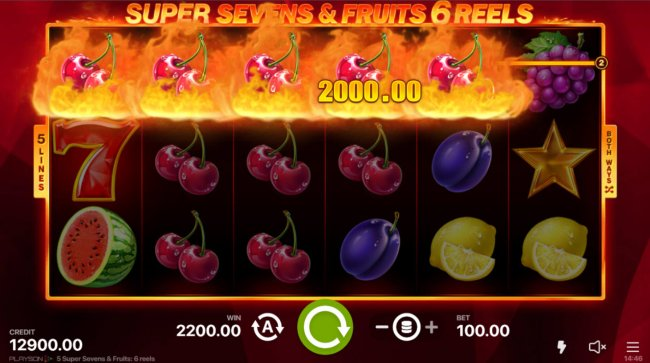 A five of a kind win - Free Slots 247