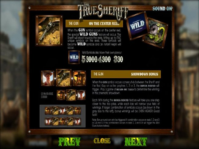 The True Sheriff by Free Slots 247