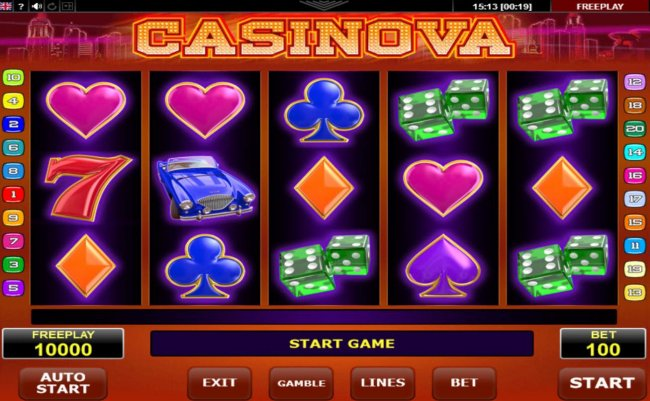 Casinova by Free Slots 247