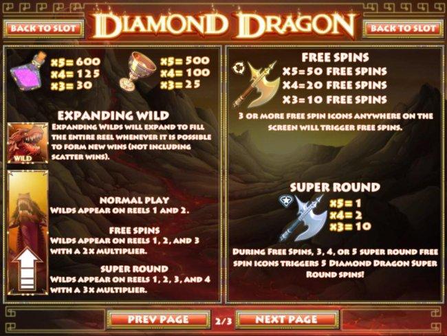 Images of Diamond Dragon