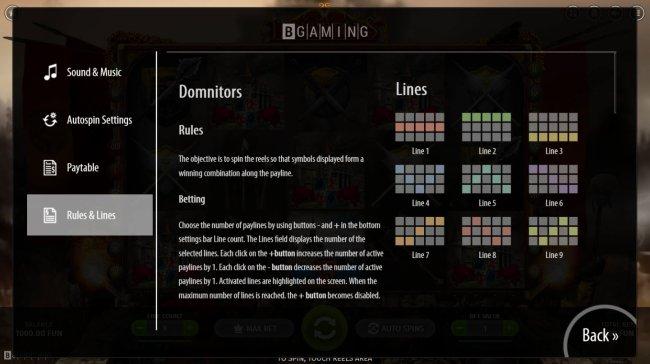 Dominators by Free Slots 247
