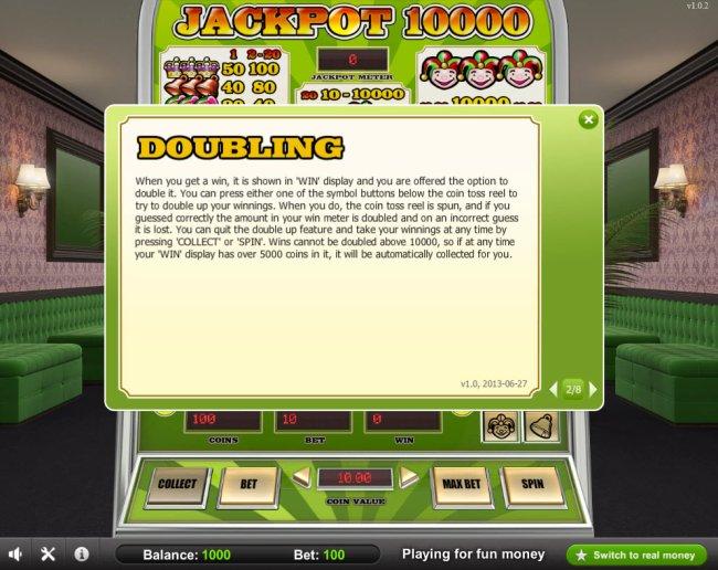 Jackpot 10000 screenshot
