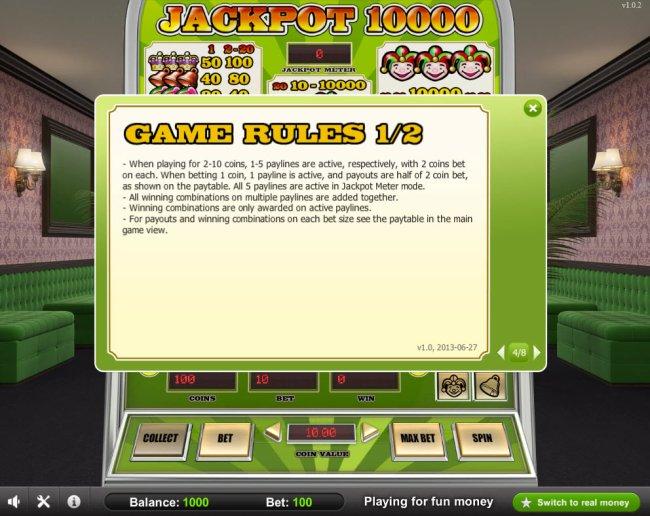 Free Slots 247 image of Jackpot 10000