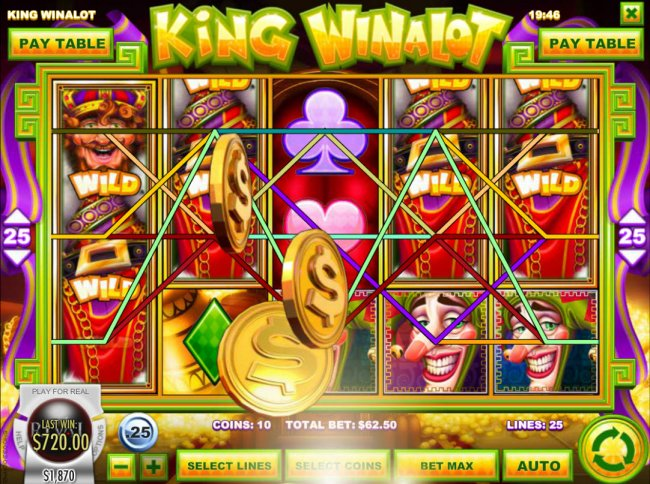 Stacked wild symbols leads to a big win - Free Slots 247