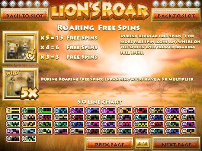Lion's Roar by Free Slots 247
