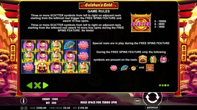 Images of Caishen's Gold