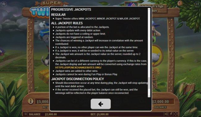 Progressive Jackpot Rules by Free Slots 247