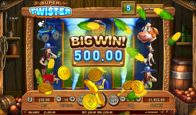 Free Slots 247 image of Super Twister