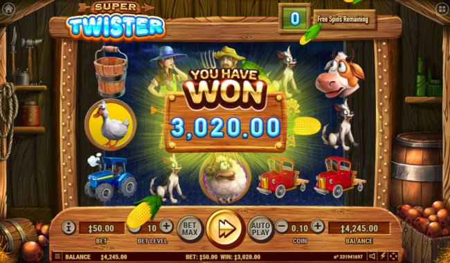 Total Free Spins Payout - Free Slots 247