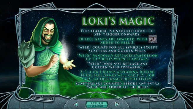 Lokis Magic Feature Rules by Free Slots 247