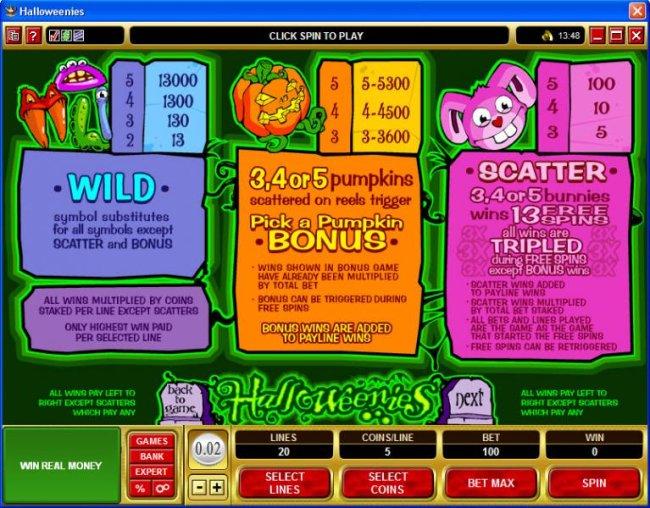 Halloweenies by Free Slots 247