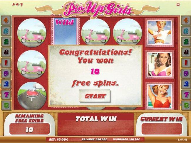 Free Slots 247 image of Pin Up Girls