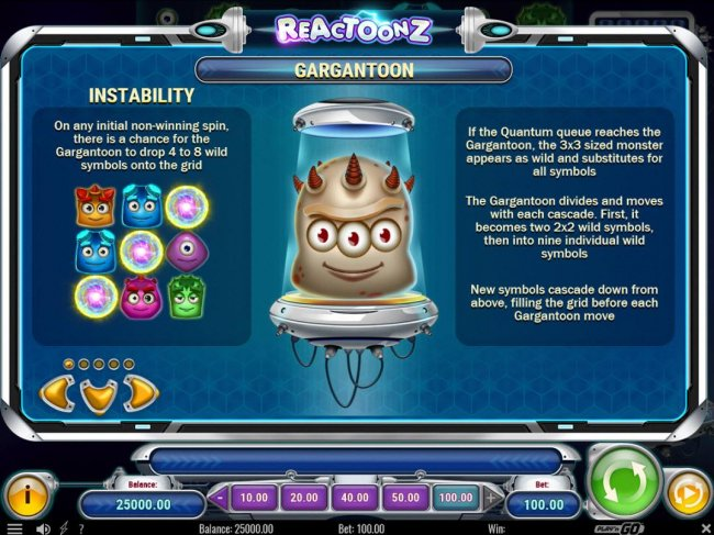 Reactoonz by Free Slots 247