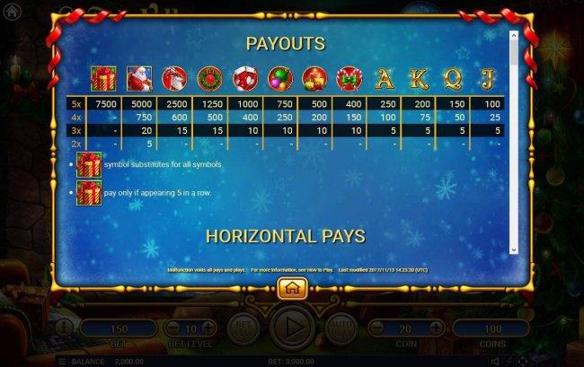 Free Slots 247 image of Santa's Village