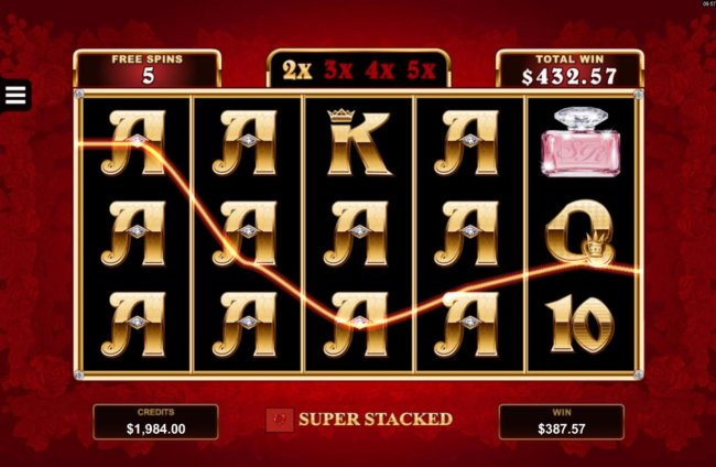 Free Slots 247 - Mystery symbols triggers a big win during the Free Games feature.