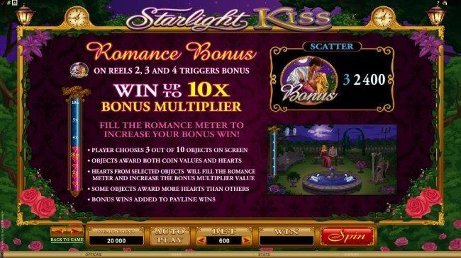 Starlight Kiss by Free Slots 247