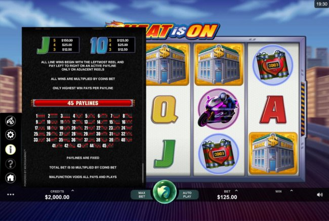 Free Slots 247 image of The Heat is On