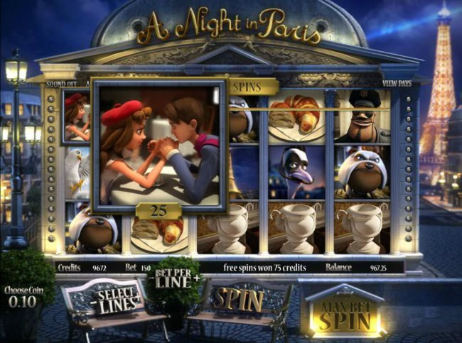 A Night in Paris Jackpot by Free Slots 247