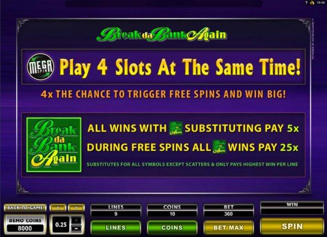 Break da Bank Again II by Free Slots 247