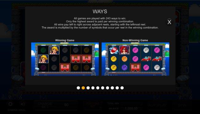 Free Slots 247 - 243 Ways to Win