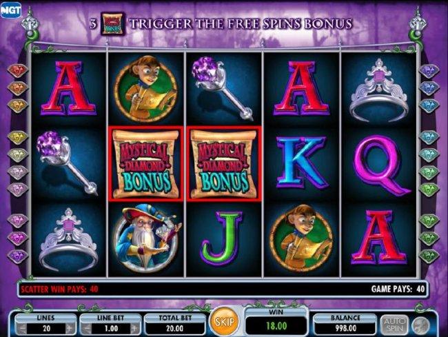 Free Diamond Queen Slot Machine
