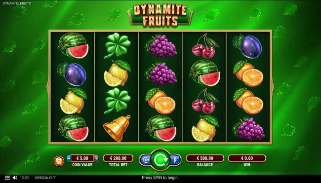 Dynamite Fruits screenshot