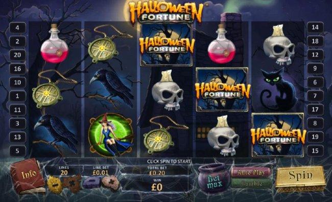 Halloween Demo Slot Machine