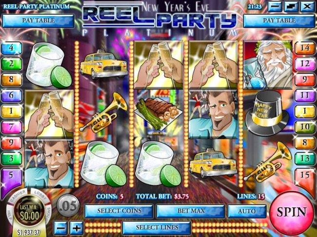 Reel Party Platinum screenshot