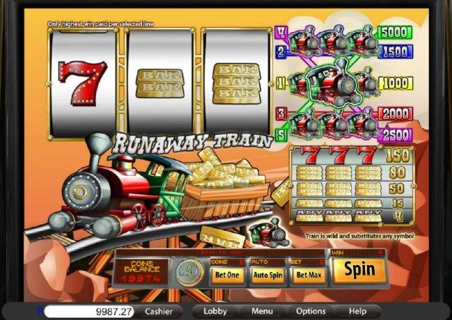 Runaway Train screenshot