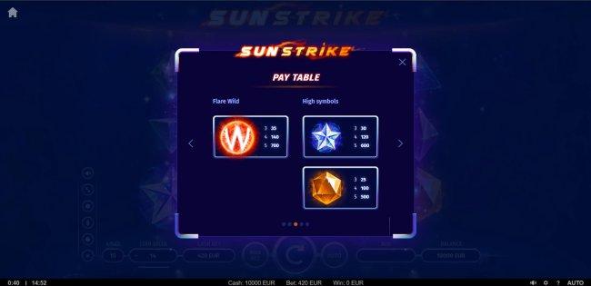 Sunstrike by Free Slots 247